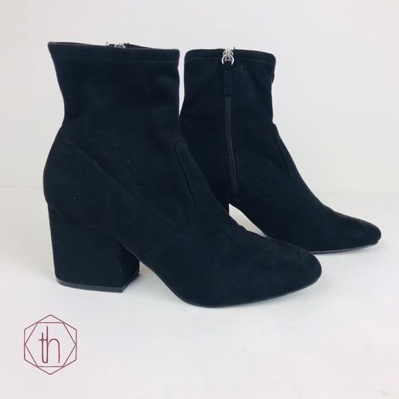 nuevo estilo y lujo zapatos de temperamento volumen grande Steve Madden Shoes | Iberia Sock Booties 85 Black | Poshmark